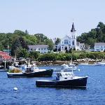 Iconic View of Boothbay Harbor from Room