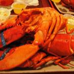 Lobsters at the Tugboat Inn Restaurant