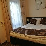 double bed(although I was alone. ^^)