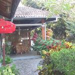 Entree villa