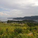 panorama dal terrazzino della camera