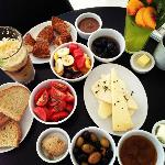 Turkish Breakfast -- Absolutely delicious!!