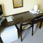 机の広さはまずまず