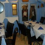 Quaint upstairs dining area