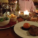 superb steak!