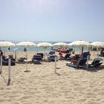 Hotel eigener Strand Service