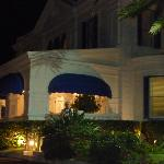 Nightime at the Front of Hotel