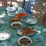 Alcuni dei piatti di Marta