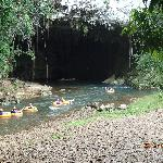 Cave Entrance: Cave Tubing