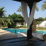The main swimming pool..