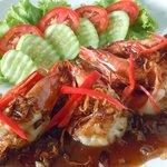 Prawns in Tamarind Sauce