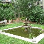 Quiet Garden Sitting Area