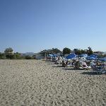 выход на пляж