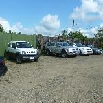 Parkplatz in Sierpe