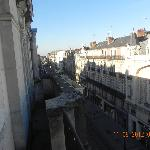 vista desde nuestra habitacion hacia la zona antigua