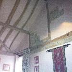 Beautiful original features inside the Garden room.