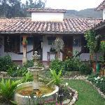 Colombian Highlands Central Courtyard