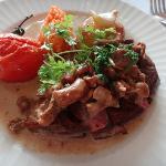 牛肉のお料理