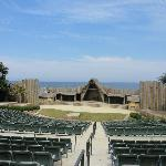 Stage for Lost Colony play
