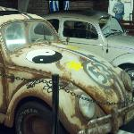 "Two ""Herbie"" VWs used in Disney movies"