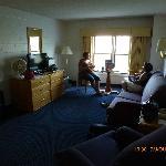 Living room, room 432