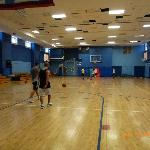 Basketball fields (interior to the hotel)