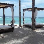 Cabana's by the beach