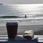 Grab a Brekki & a Coffee & enjoy the nearby Beach!