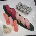 Sushi Sampler...$15.