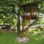 The treehouse between Chemperoh Villa and Meranti Chalet