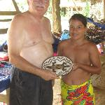 Purchasing authentic Embera basket