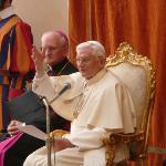 Der Papst ganz nah.