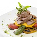 Mouthwatering food at the Basilico Restaurant