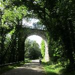 Cycling near Gouarec