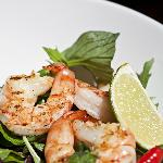 Honey-lime marinated grilled scampi, Appetizer,!