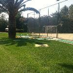 5 ramponierte Minigolfplätze