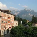Blick auf Levico Terme