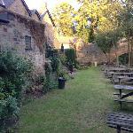 Entrance into Beer Garden