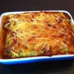 Cannelloni farci au blettes et Brocciu coulis de tomates fraiches