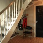 Hallway with space for luggage storage (Writer's home)
