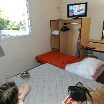 cramped room