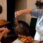 Historic manor house kitchen