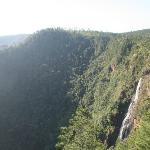 waterfall near by
