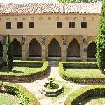Atrio del monasterio