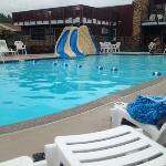 Pool and slides