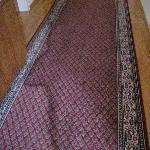 Teppiche im Hotelflur
