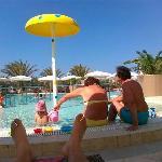Outside pool for children