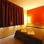 Dormitorio apartamento de una habitación