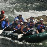 Great time White Water Rafting in Big Sky MT