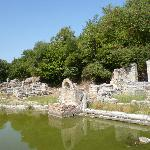 restes d'une villa romaine